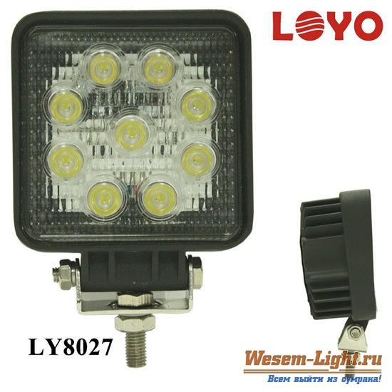 светодиодные фары рабочего света на УАЗ Патриот