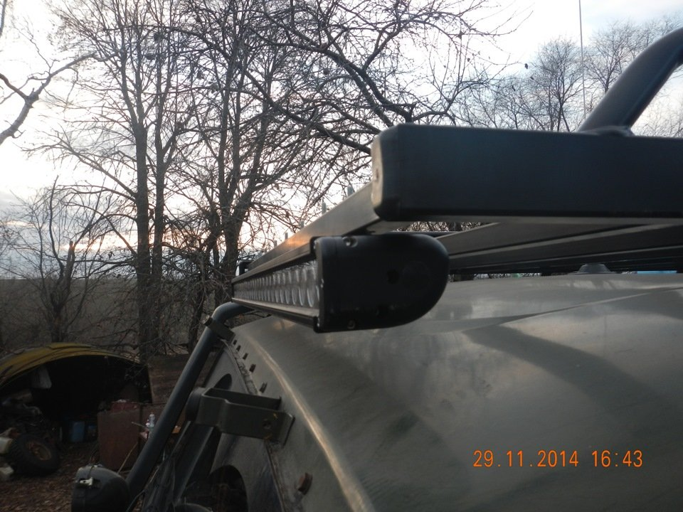 светодиодная балка LOYO 300W УАЗ на крышу