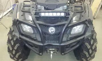 led БАЛКА, LED ФАРА, ДЛЯ квадроцикла, дальний свет, ближний свет, 60 ватт, на багажник, для ATV