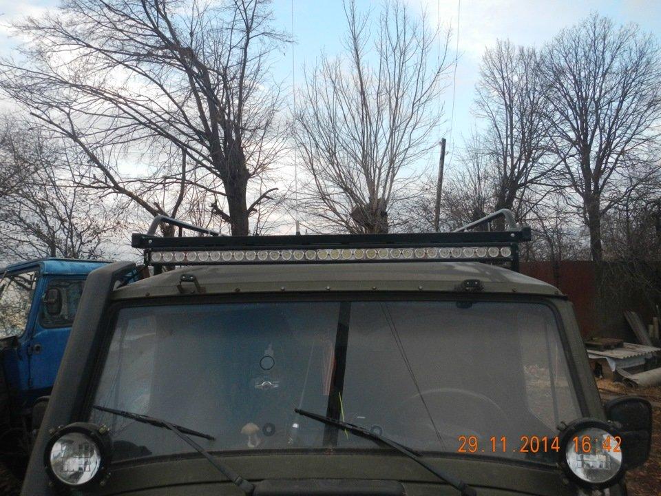 балка на экспедиционный багажник LOYO УАЗ