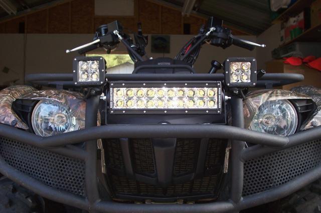 Дополнительный свет на квадроцикл своими руками6