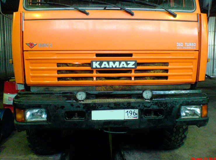 Фары для грузовиков камаз, фары на бампер камаз, светодиодные фары