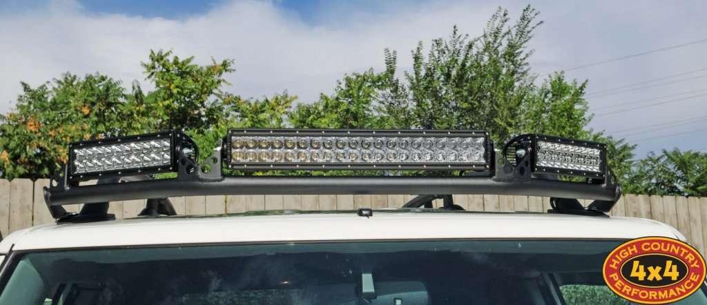 установка светодиодной фары на люстру Toyota