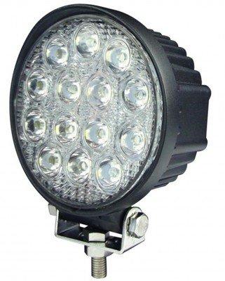 [42 Вт] Светодиодная LED фара рабочего света круглая LOYO WORK 8042 Световой поток: 3800 ЛюменМощность: 42 ВтУгол рассеивания: 60 град