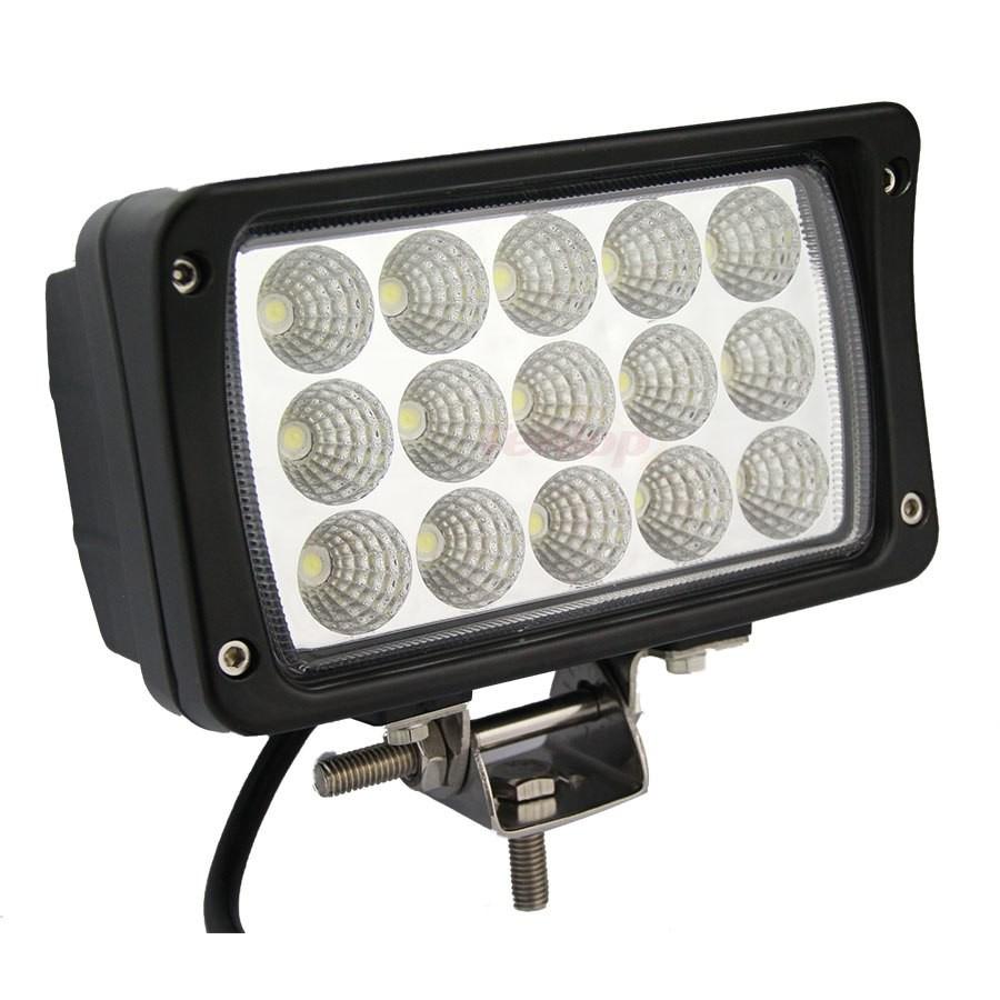 Купить LED фара рабочего света GR-1245SF (45 Ватт, прямоугольная, для  спецтехники, для внедорожников, тип света - ближний FLOOD) в Москве в  интернет магазине   Wesem-light