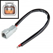 DT Connector (Male type) 4 pin c проводом