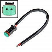 DT Connector (Female type) 4 pin c проводом