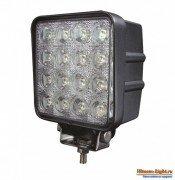 [48 Вт] Светодиодная LED фара дальнего света, квадратная LOYO UNIVERSAL LY8048