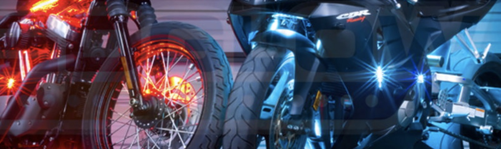 Купить подсветку для мотоцикла