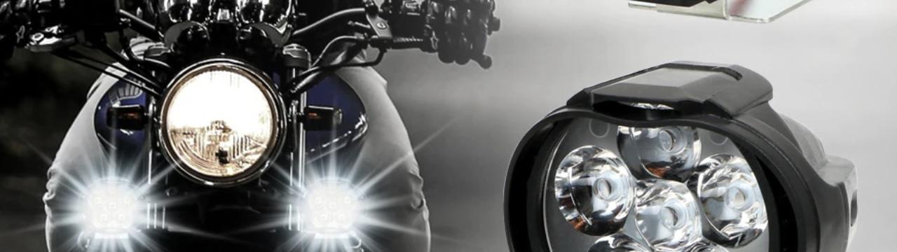 Доп освещение на мотоцикл